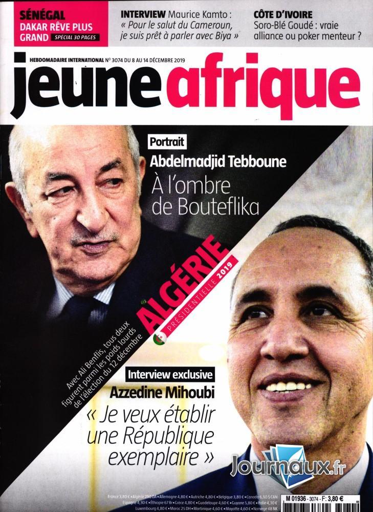 Jeune Afrique N° 3074 Décembre 2019