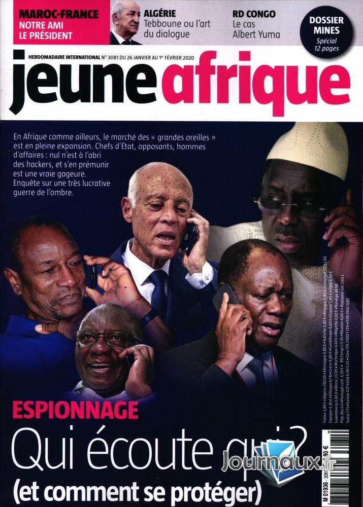 Jeune Afrique N° 3081 Janvier 2020