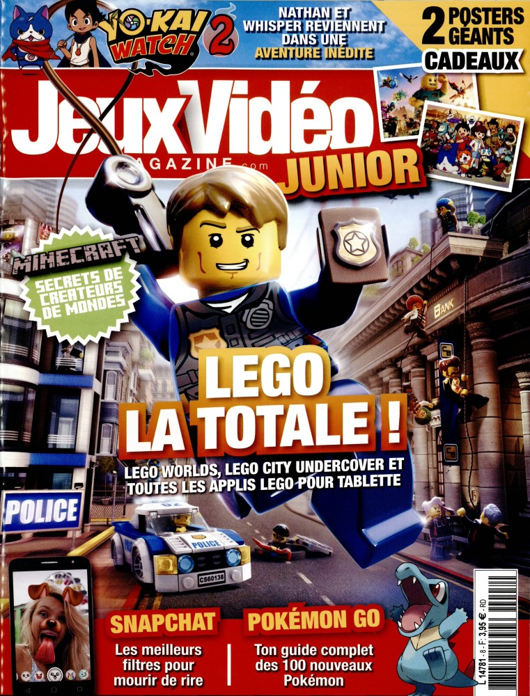 Jeux vidéo magazine junior N° 8 Avril 2017