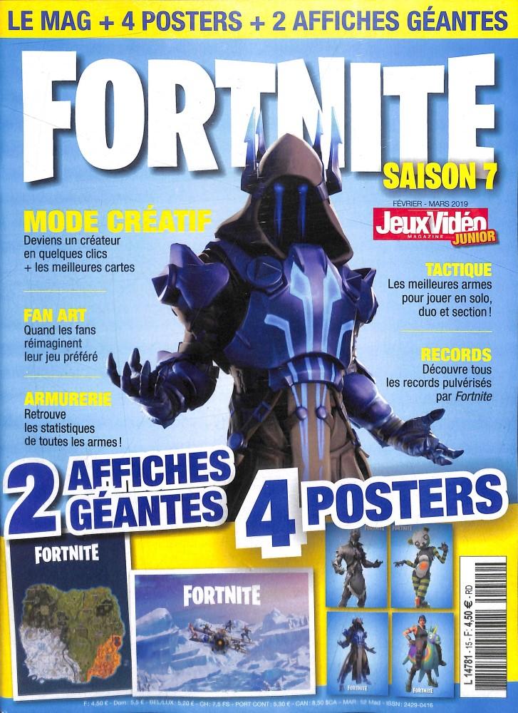 Jeux vidéo magazine junior N° 16 Mars 2019