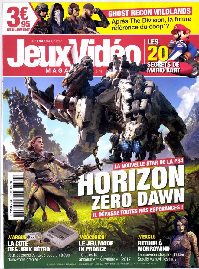 Jeux vidéo magazine N° 194 Février 2017