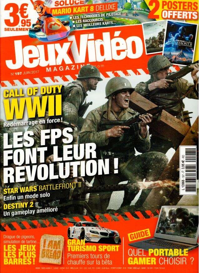 Jeux vidéo magazine N° 197 Mai 2017