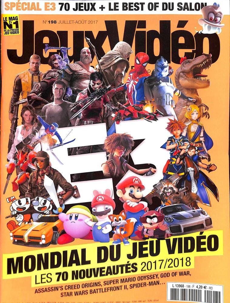 Jeux vidéo magazine N° 198 Juin 2017