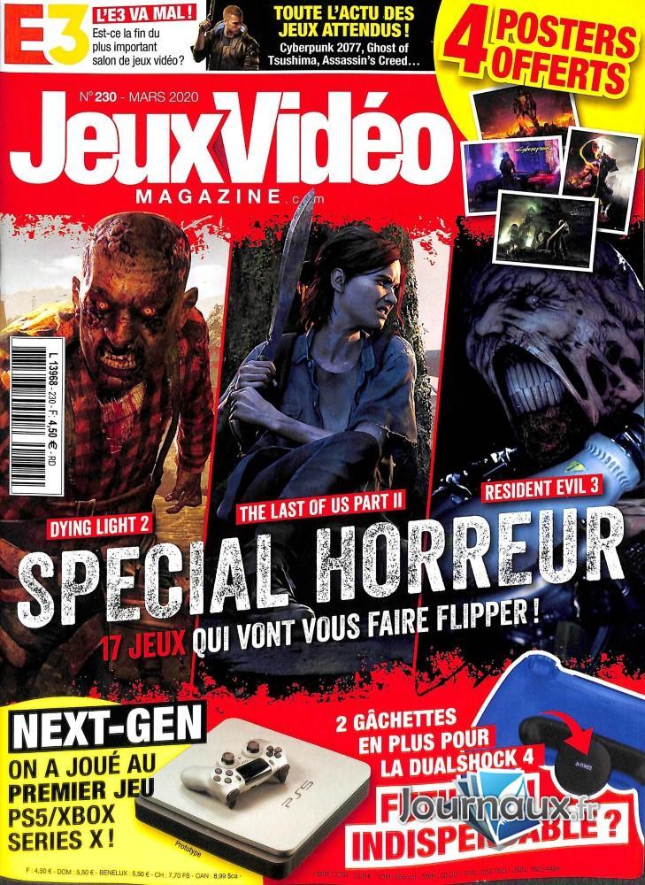 Jeux vidéo magazine N° 231 Avril 2020