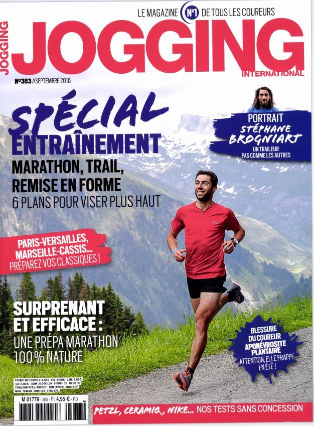 Jogging International N° 383 Août 2016