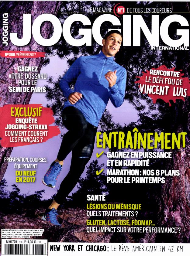 Jogging International N° 390 Mars 2017