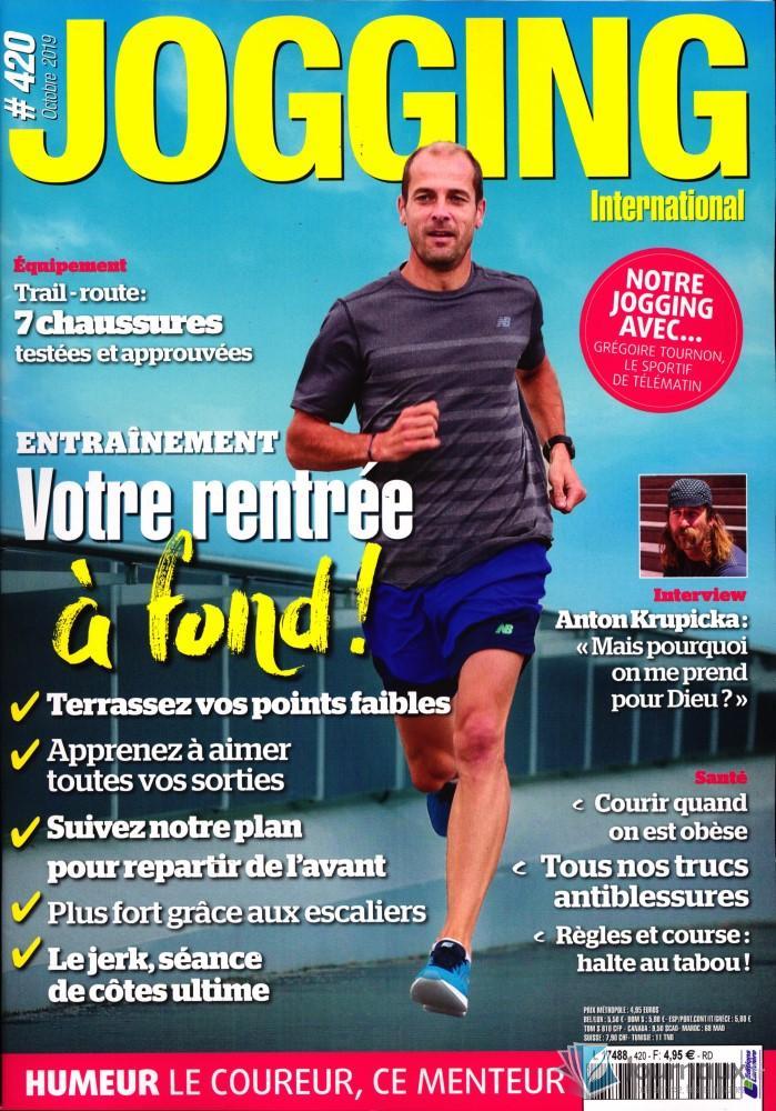 Jogging International N° 418 Juillet 2019