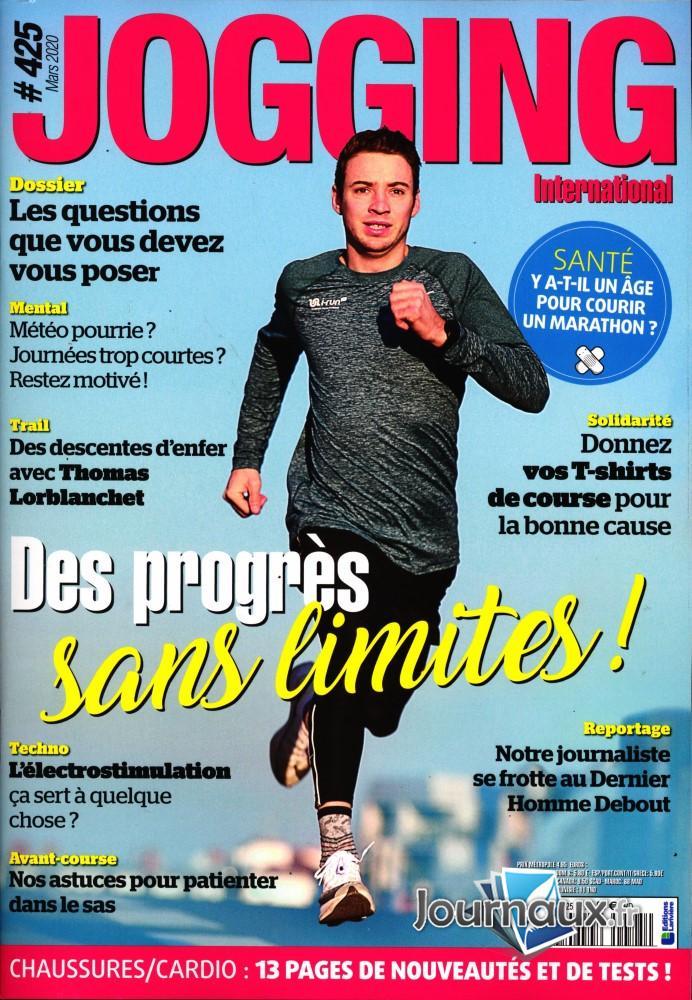 Jogging International N° 426 Mars 2020