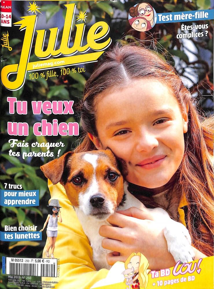 Julie N° 250 Avril 2019