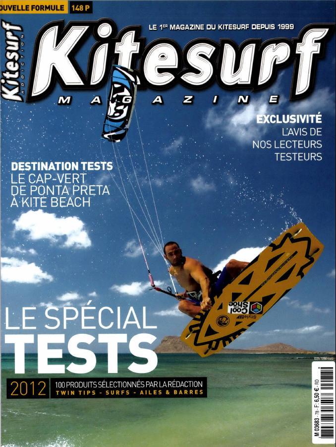 Kitesurf magazine N° 78 Avril 2012