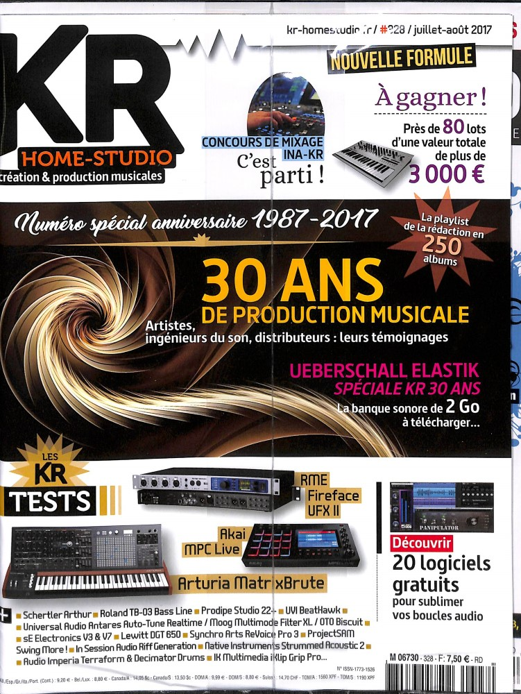 KR Home studio N° 276 July 2012