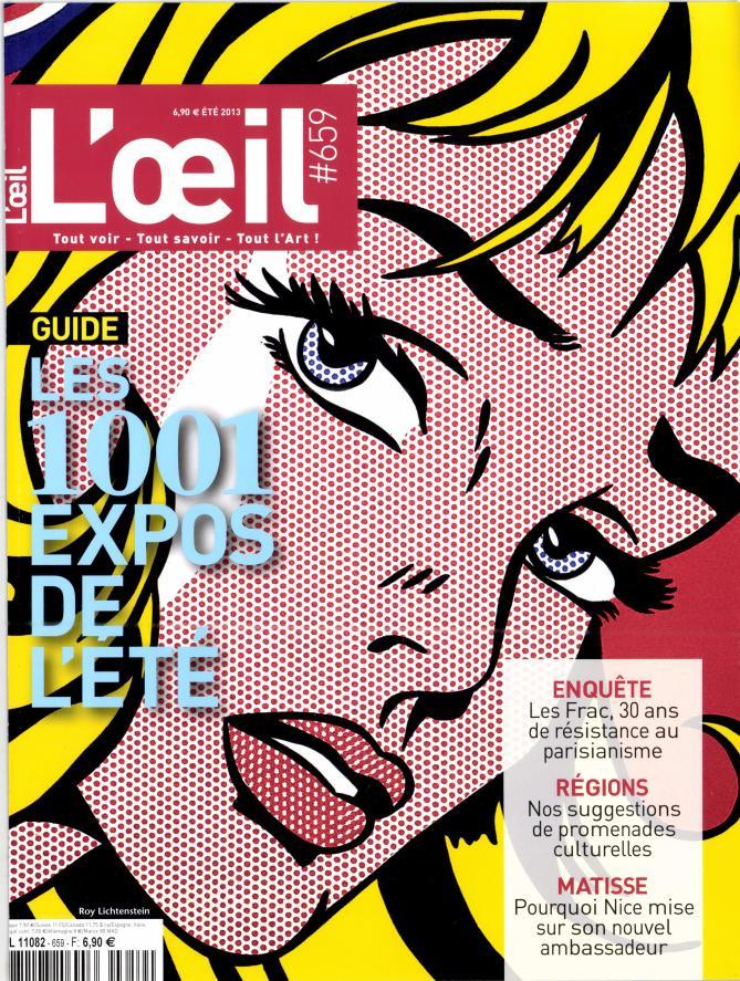 L'OEil N° 726 Août 2019