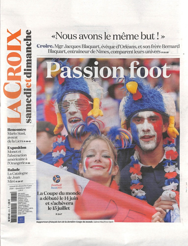 La Croix N° 616 June 2018