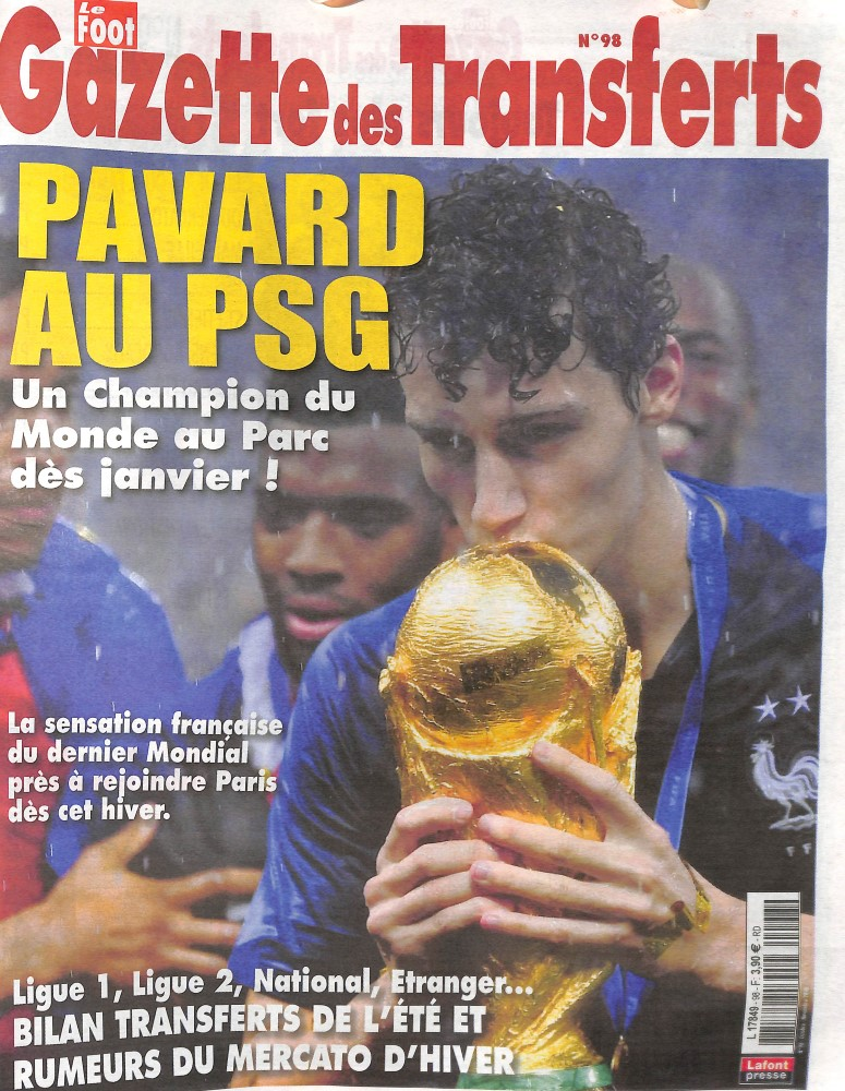 La Gazette des Transferts N° 98 September 2018