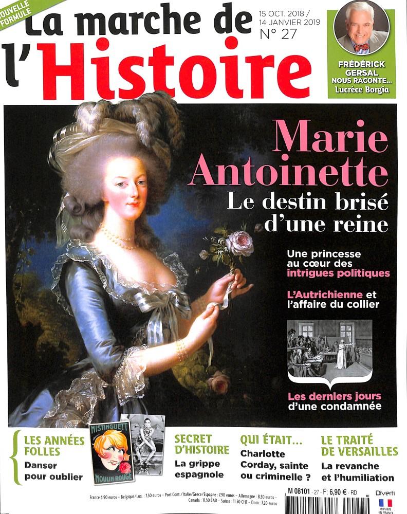 La marche de l'Histoire N° 27 October 2018