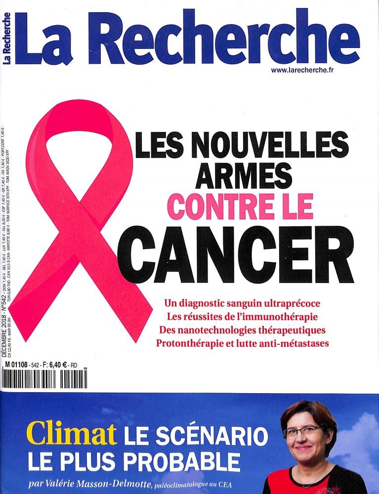 La recherche N° 541 October 2018