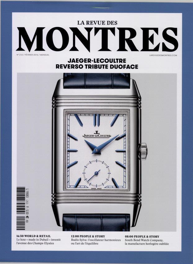 La Revue des montres N° 251 Janvier 2020