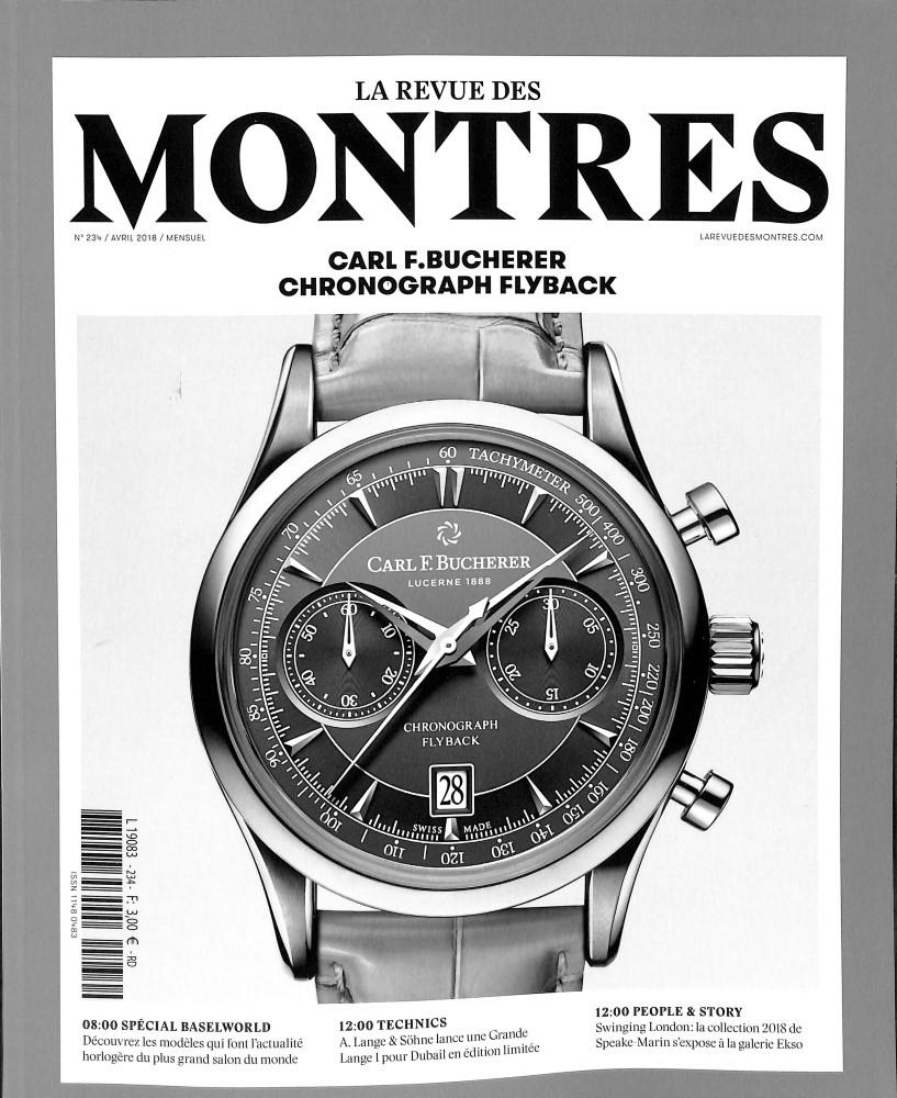 La Revue des montres N° 234 March 2018