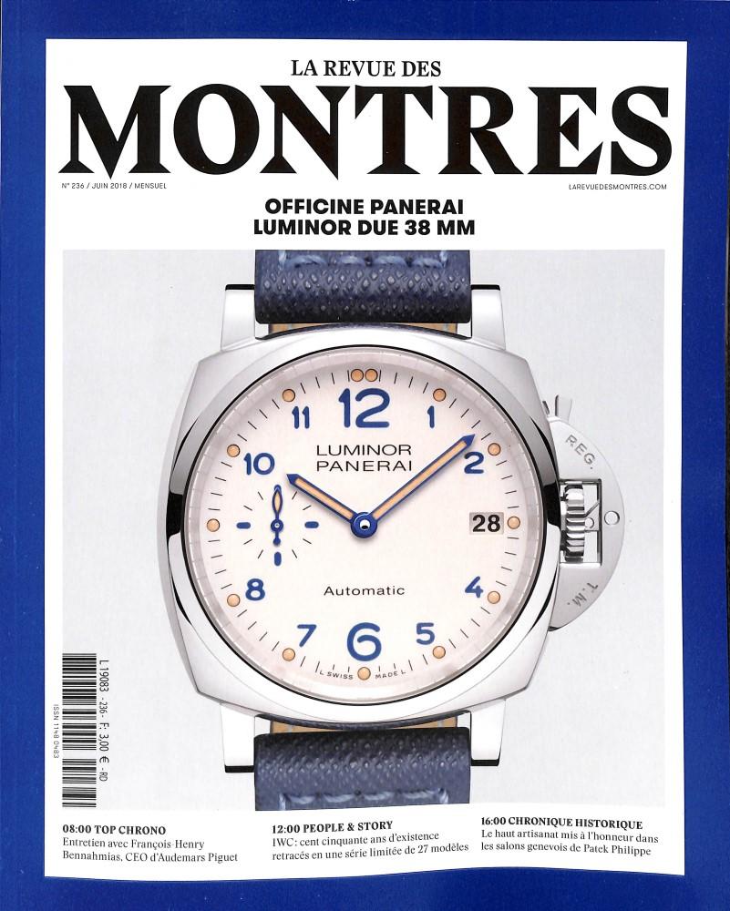 La Revue des montres N° 236 May 2018