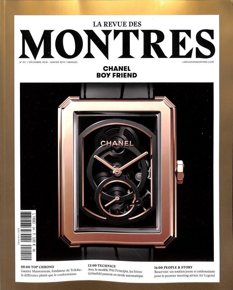 La Revue des montres N° 241 November 2018