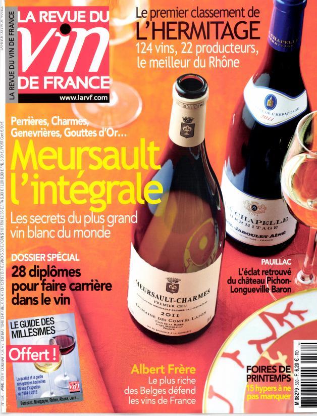 La revue du vin de France N° 638 Janvier 2020