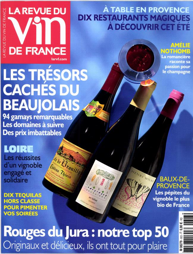 Abonnement la revue du vin de france abonnement magazine for Abonnement cuisine et vins de france