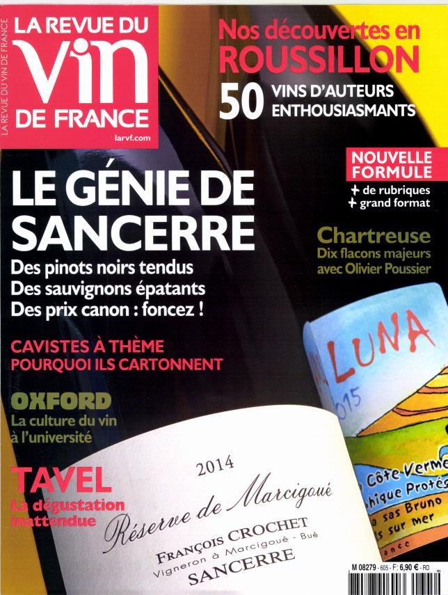 La revue du vin de France N° 627 November 2018