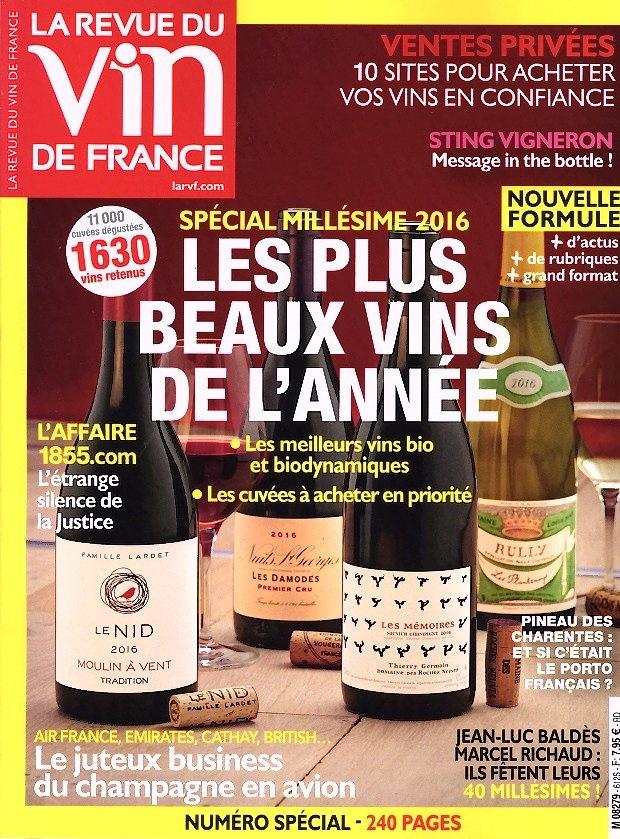 La revue du vin de france n 612 abonnement la revue du for Abonnement cuisine et vins de france