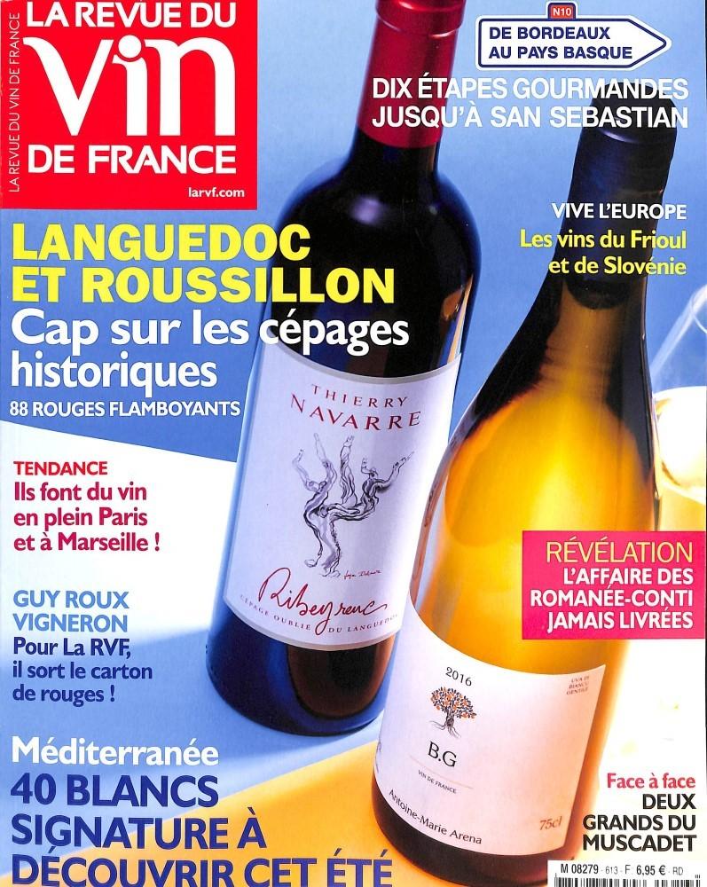 Abonnement la revue du vin de france toutabo belgique for Abonnement cuisine et vins de france