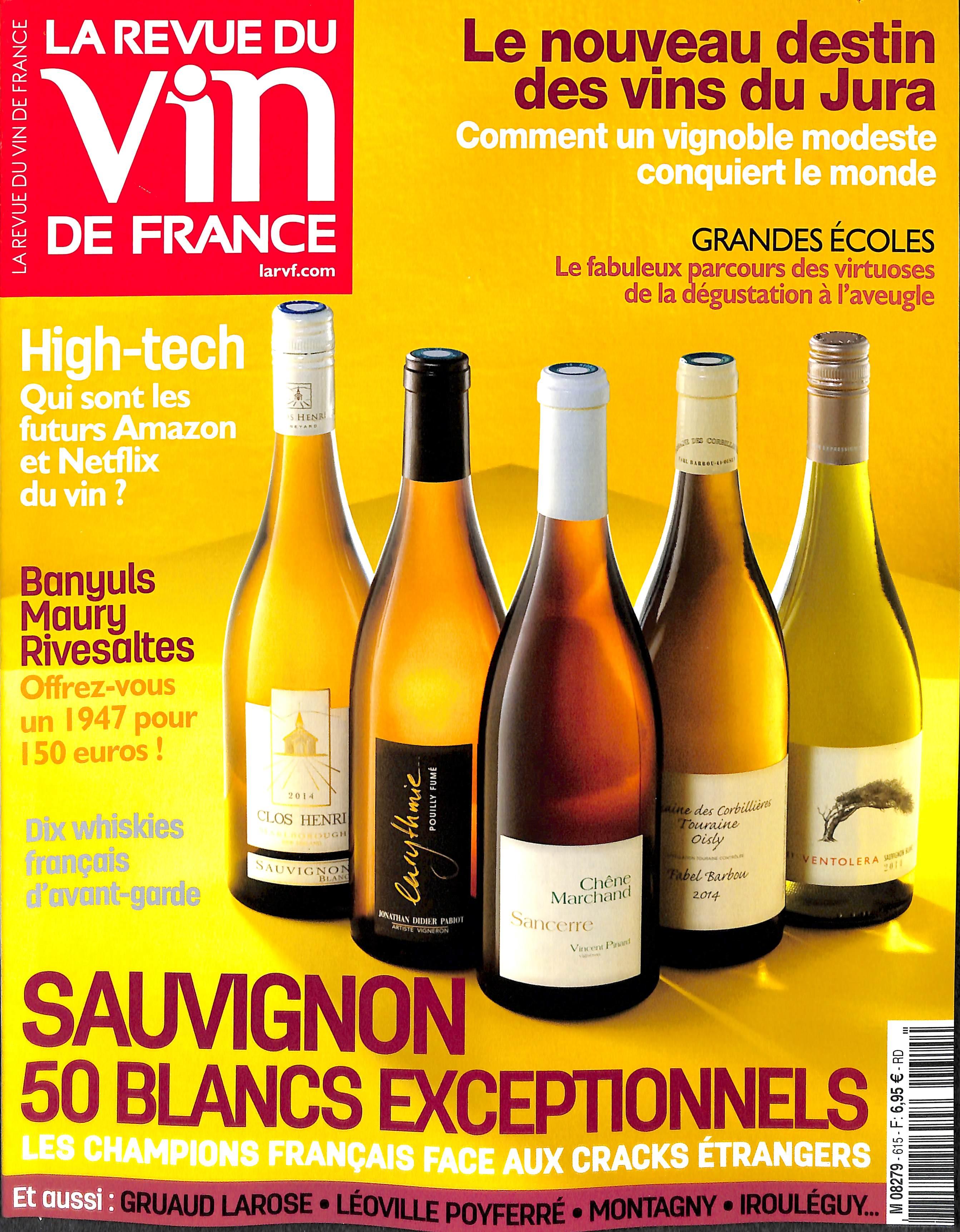 Abonnement la revue du vin de france abonnement magazine for Revue des vins de france