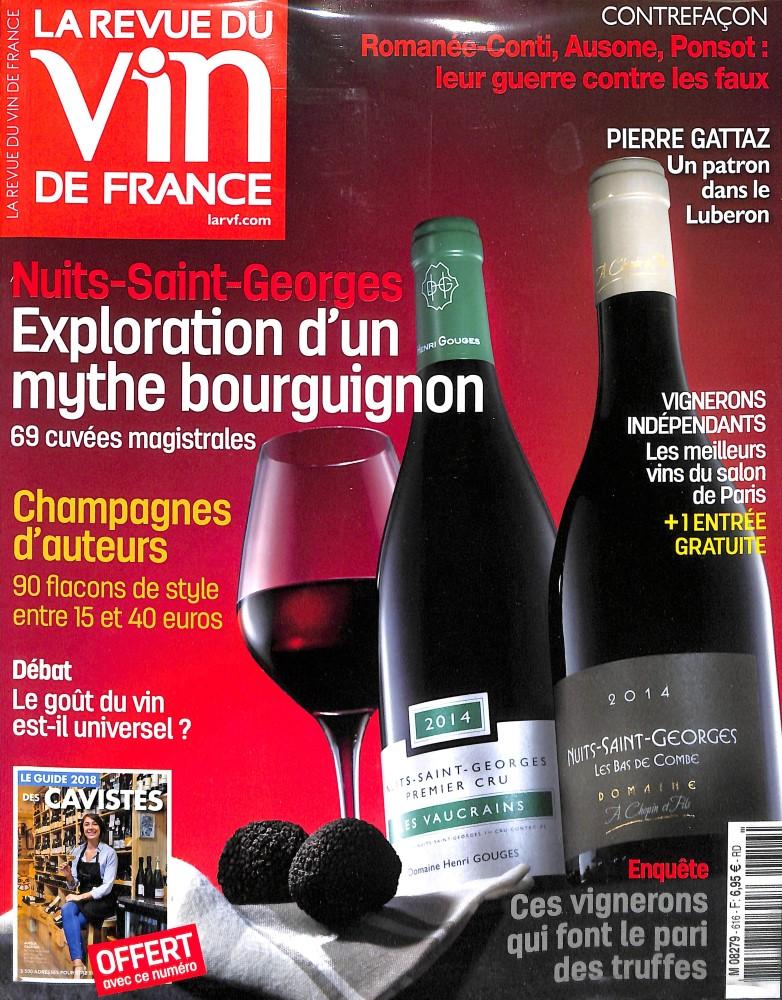 Abonnement la revue du vin de france abonnement magazine for Revue vin de france