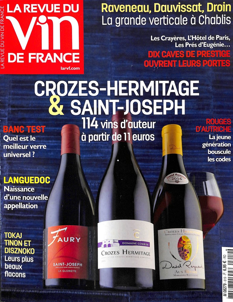 La revue du vin de France N° 619 February 2018