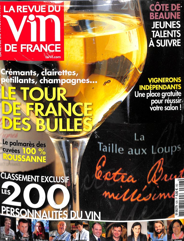 La revue du vin de France N° 626 October 2018