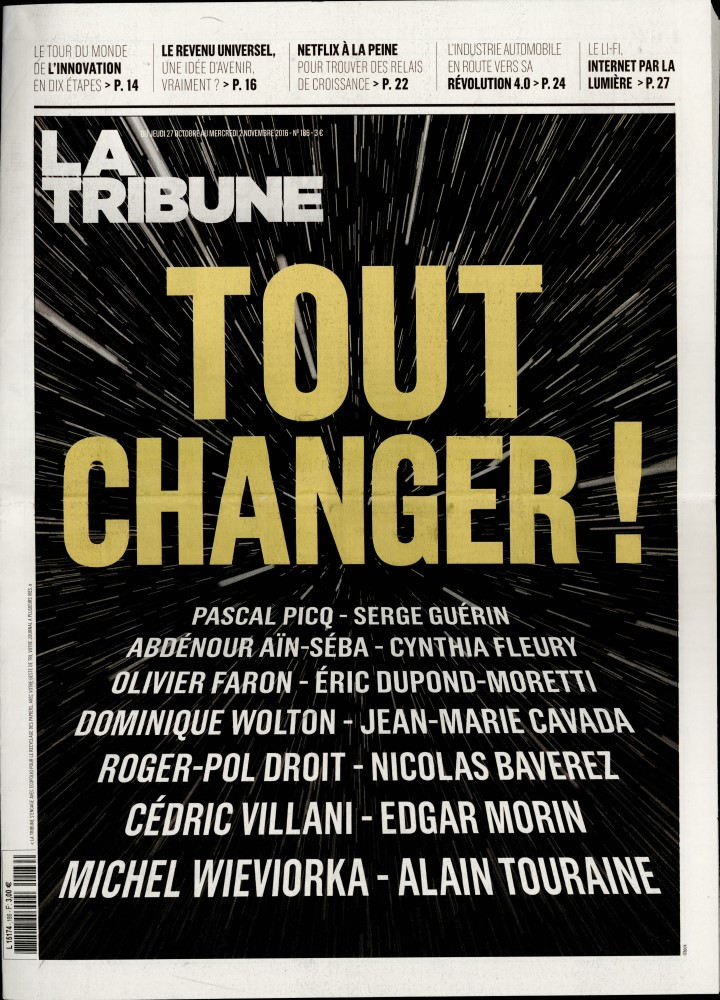 La Tribune N° 305 Octobre 2019