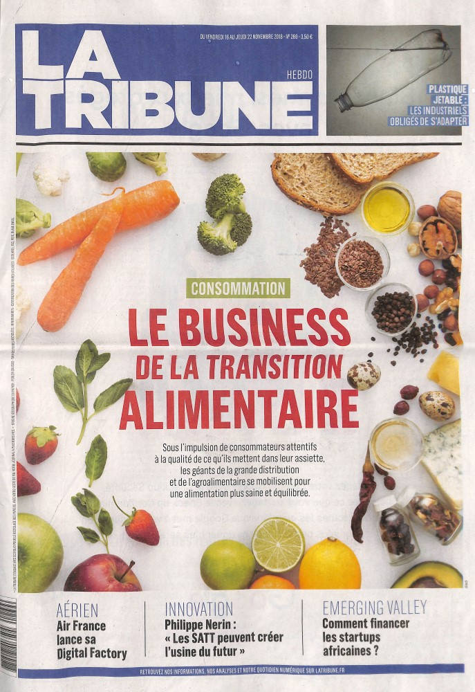 Abonement LA TRIBUNE - Revue - journal - LA TRIBUNE magazine