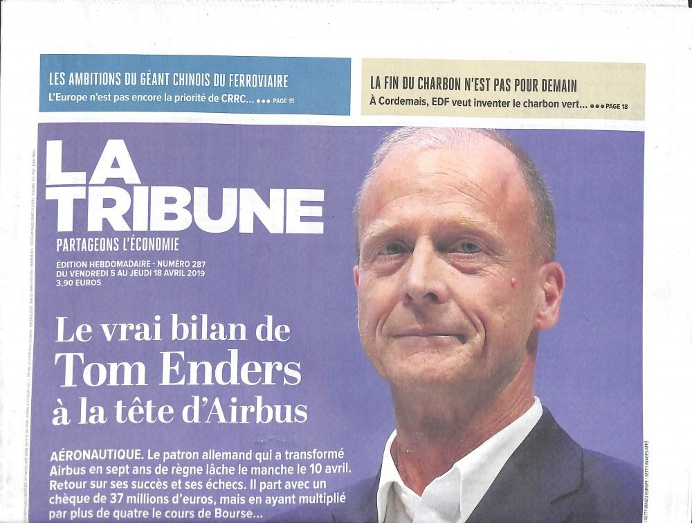 La Tribune N° 292 Mai 2019