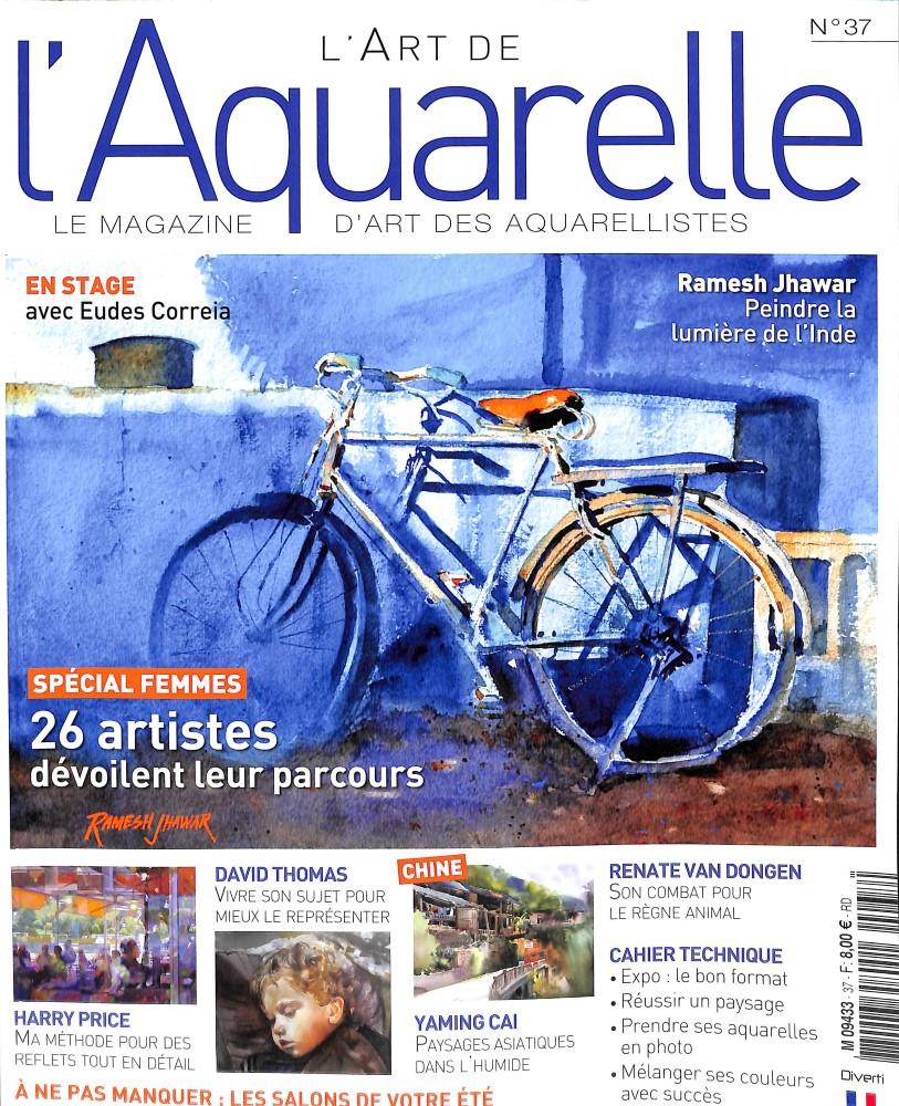 L'art de l'aquarelle N° 37 June 2018