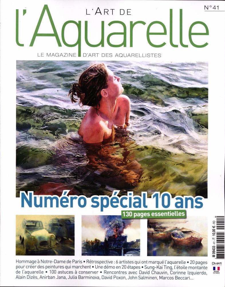 L'art de l'aquarelle N° 41 Juin 2019