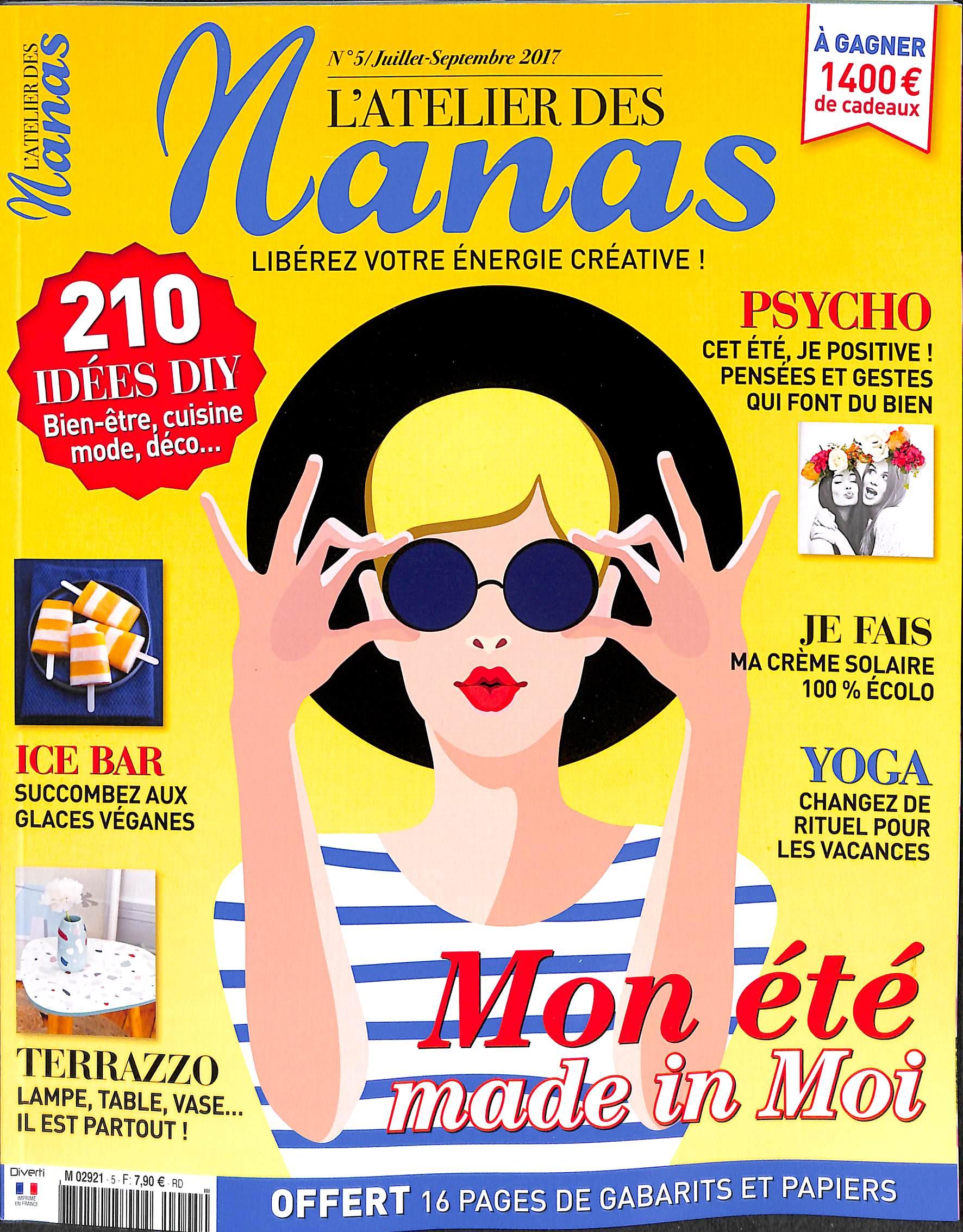 L'atelier des nanas N° 5 Juillet 2017