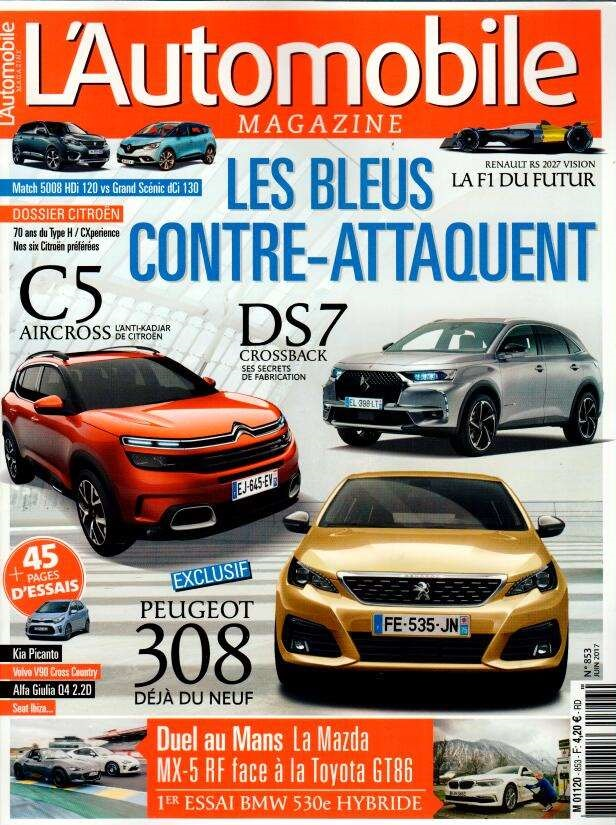 L'Automobile magazine N° 853 Mai 2017