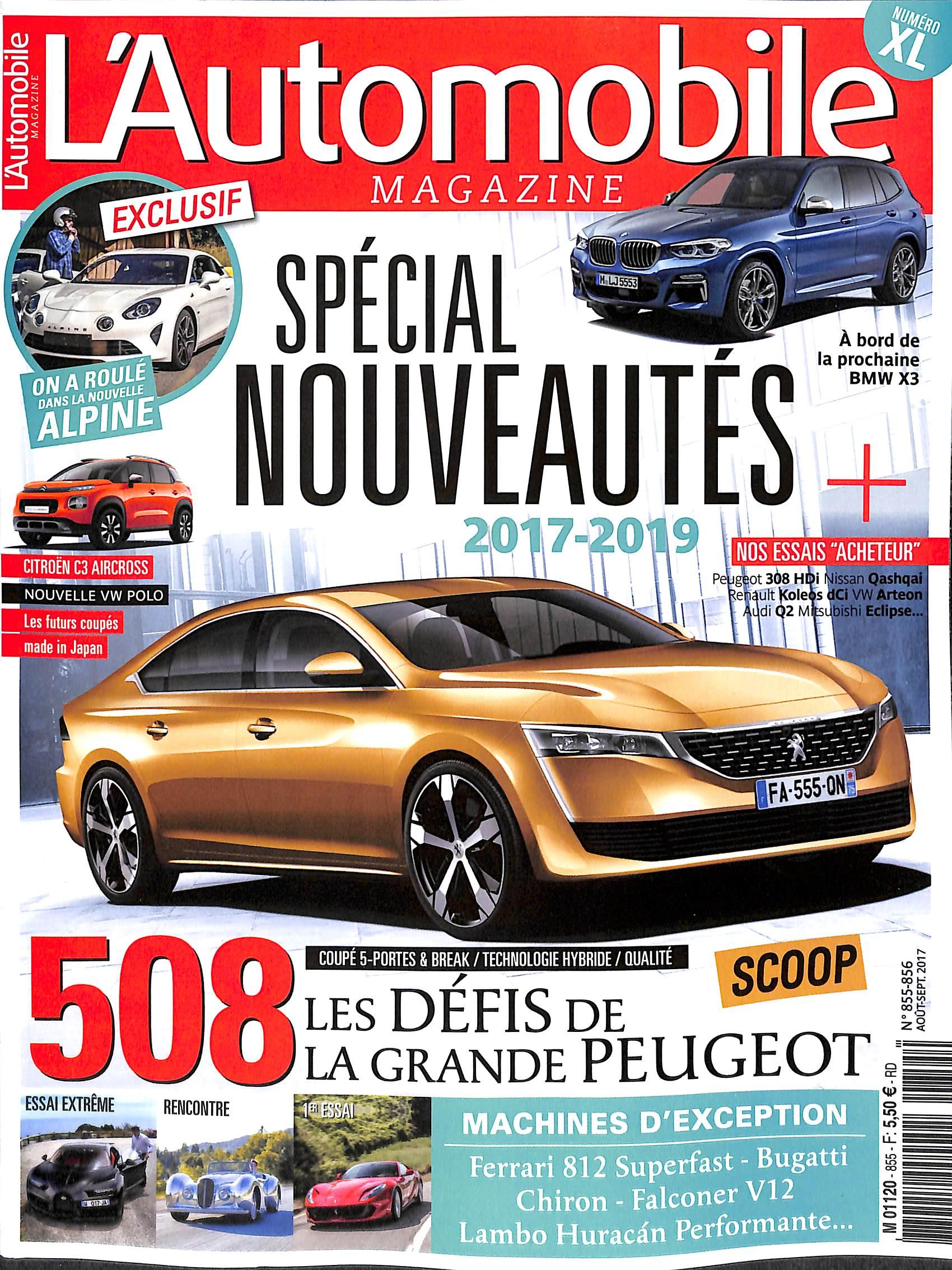 L'Automobile magazine N° 855 Juillet 2017