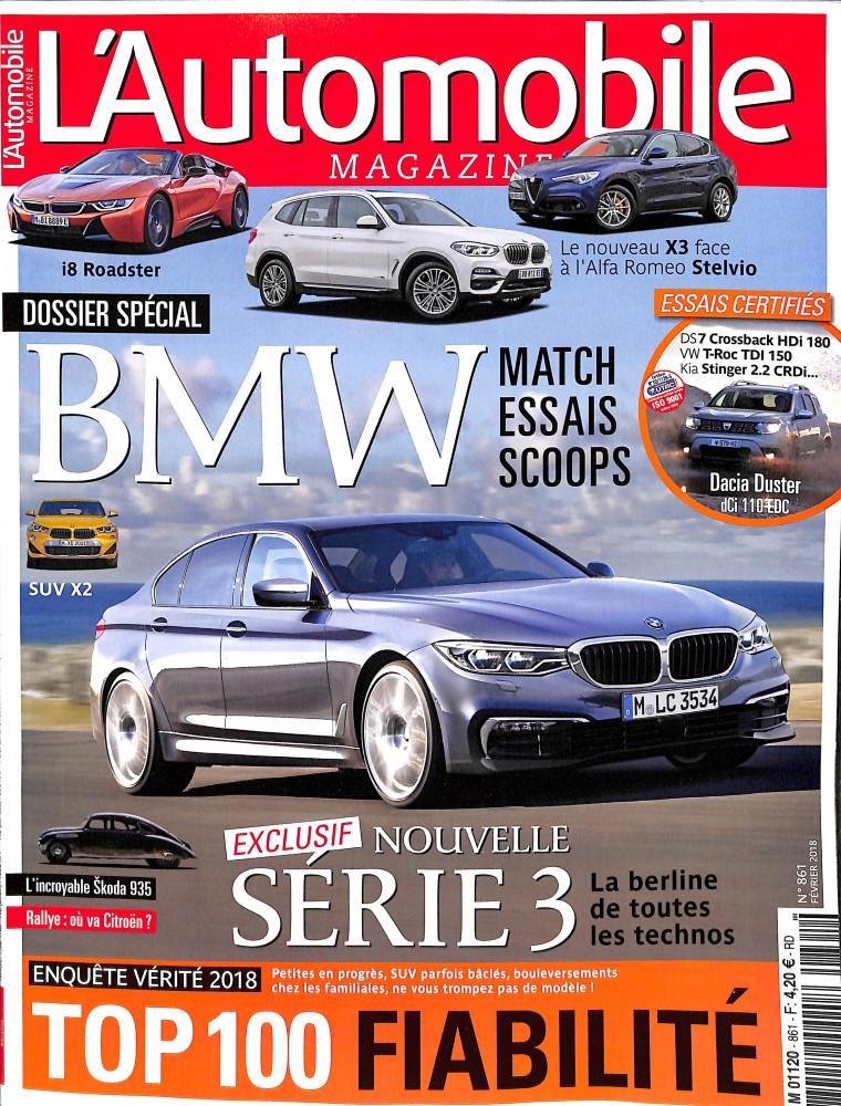abonnement l 39 automobile magazine presse de france. Black Bedroom Furniture Sets. Home Design Ideas