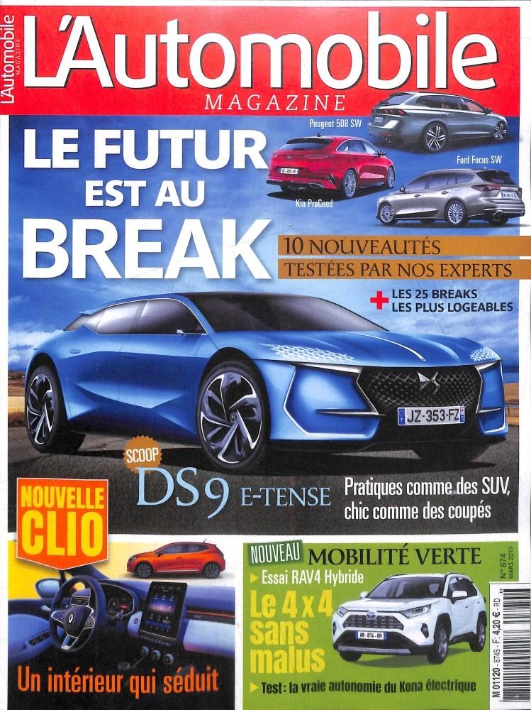 L'Automobile magazine N° 885 Janvier 2020