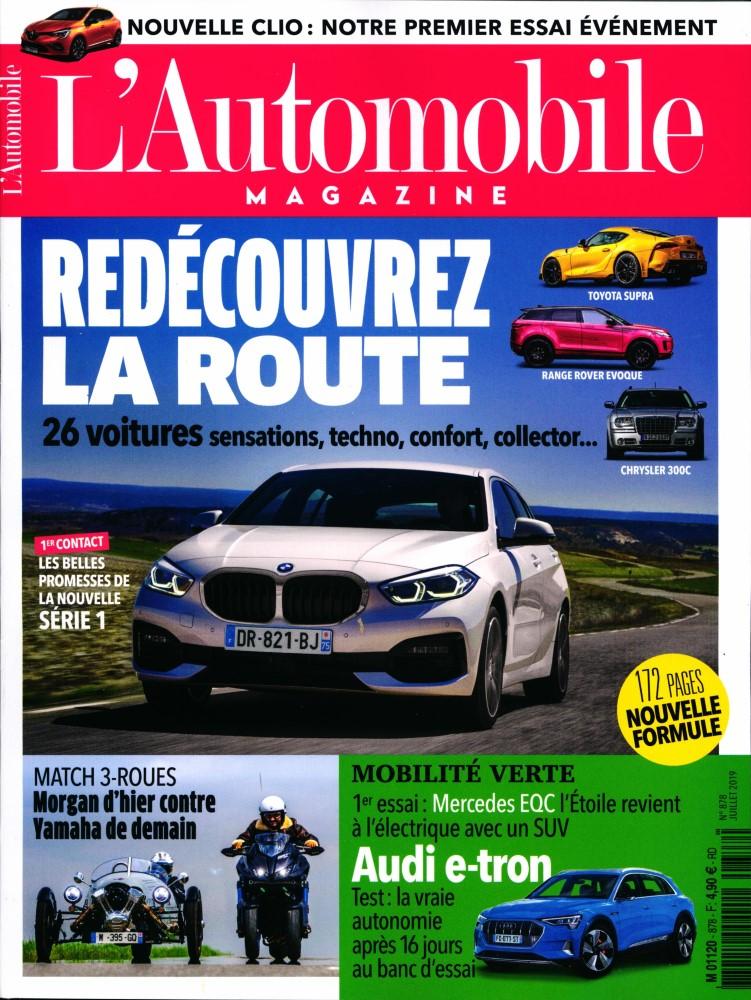 L'Automobile magazine N° 878 Juin 2019