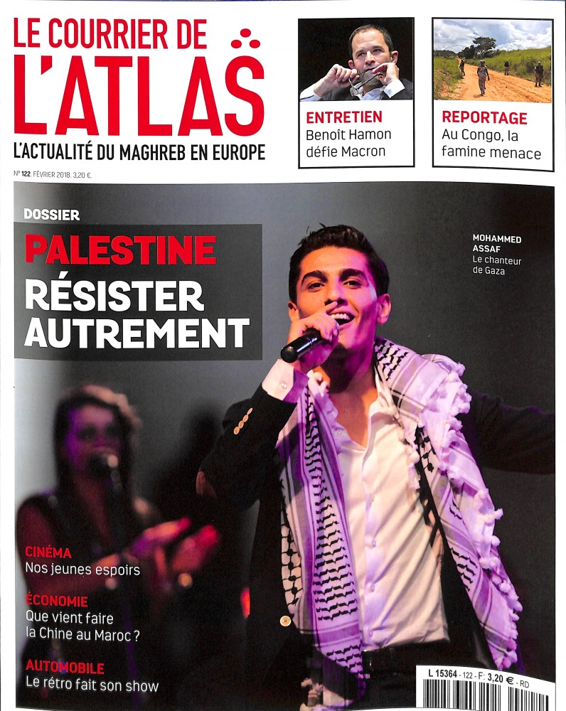 Le Courrier de l'Atlas N° 121 Janvier 2018