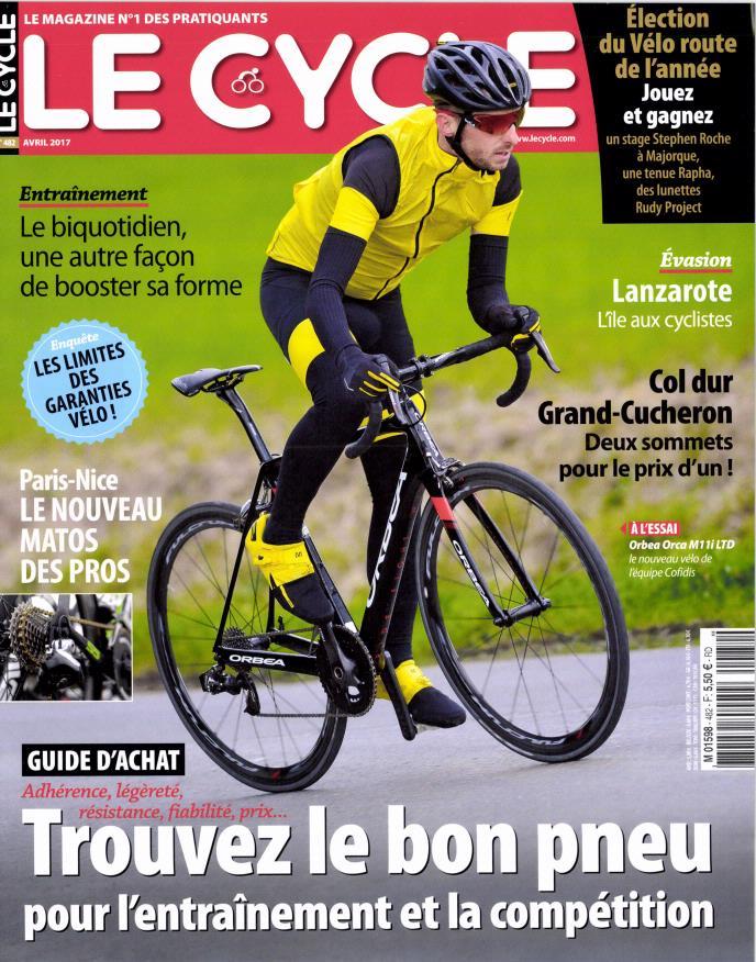 Le Cycle N° 482 Mars 2017