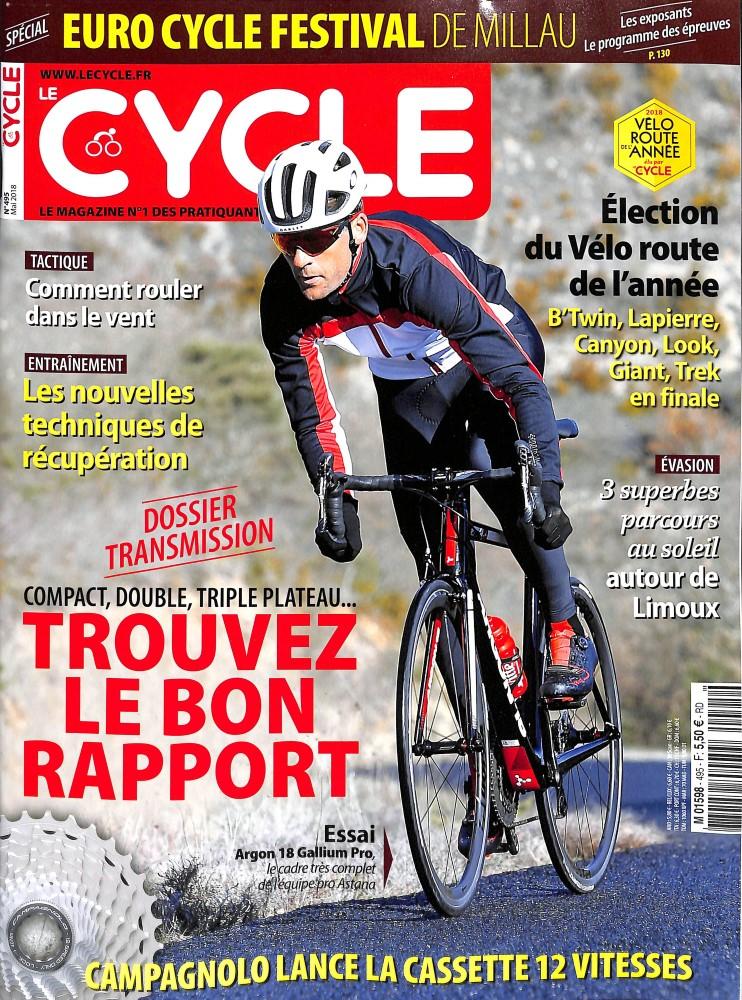 Le Cycle N° 495 April 2018
