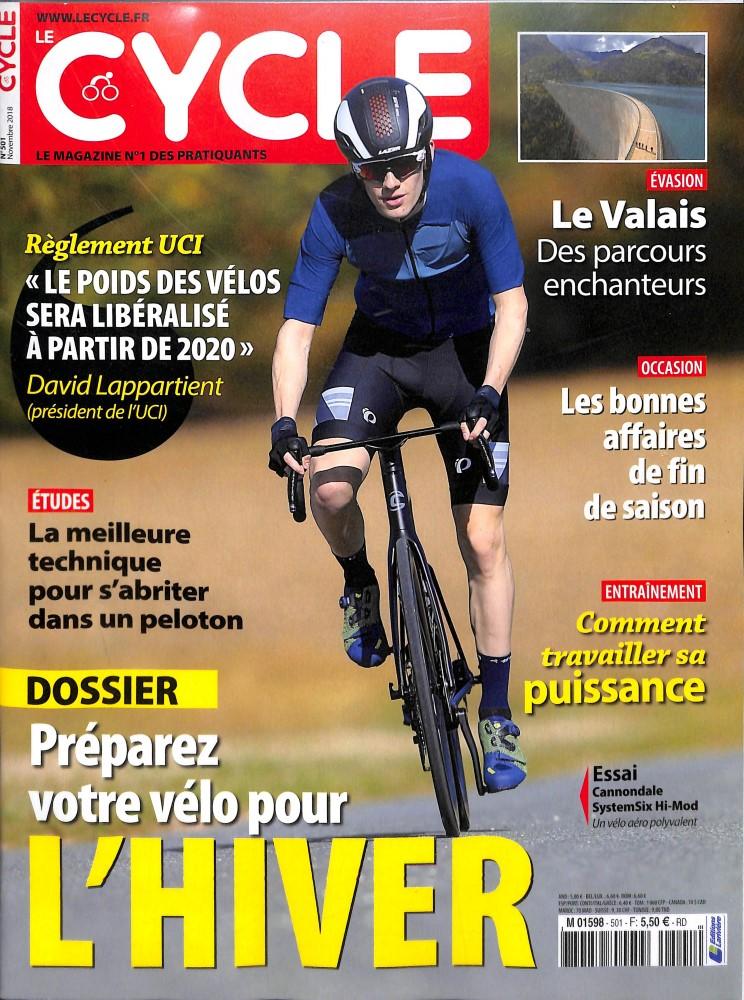 Le Cycle N° 502 November 2018