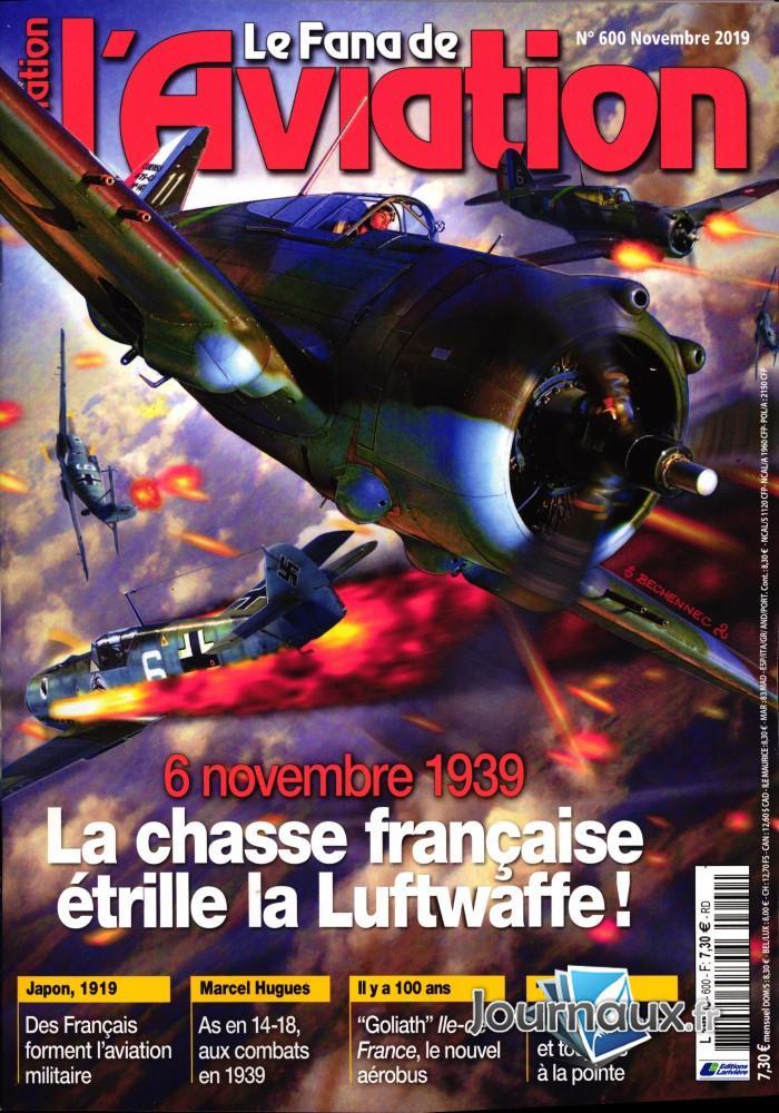 Le Fana de l'aviation N° 601 Novembre 2019