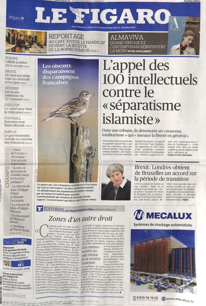 Le Figaro N° 320 March 2018